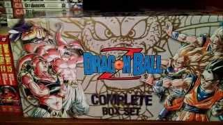 DRAGON BALL Z MANGA BOX SET UNBOXING