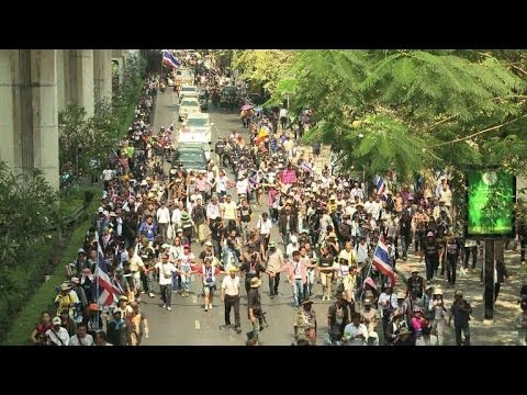 Thai protesters vow no let up after disrupting poll