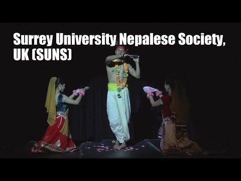 Inter-Uni Nepalese Dance Competition 2014 (Surrey University Nepalese Society, UK) SUNS