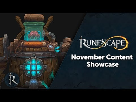 RuneScape's Content Showcase - November