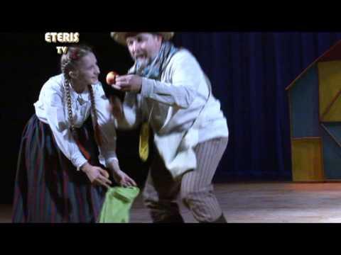 """ETERIS TV 2012.11.27 Birštone 12-ą kartą vyko teatrų šventė """"Rojaus obuoliukai"""""""