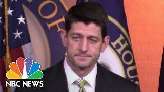 Paul Ryan Explains Decision To Pull President Trump's Health Care Bill | NBC News