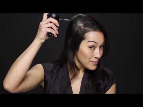 How to Get Thicker Hair by Applying Toppik Hair Building Fibers. Featuring Melina