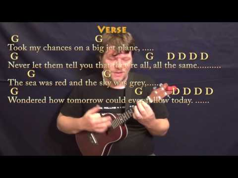 Going to California (Led Zeppelin) Ukulele Cover Lesson with Chords/Lyrics