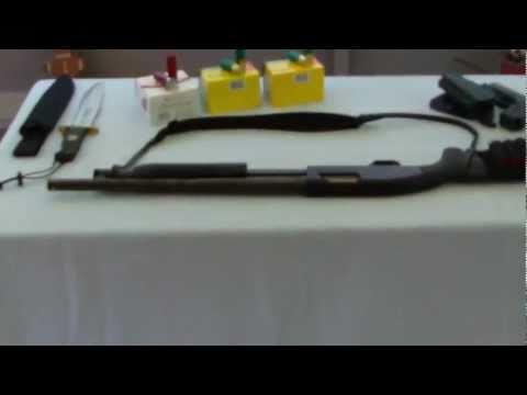 Mossberg Model 88 Maverick 12 Gauge pump shotgun