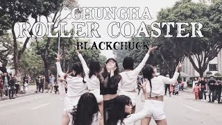 Download Lagu [KPOP IN PUBLIC CHALLENGE] CHUNGHA (청하) - Roller Coaster DANCE COVER by BLACKCHUCK from Vietnam Gratis STAFABAND