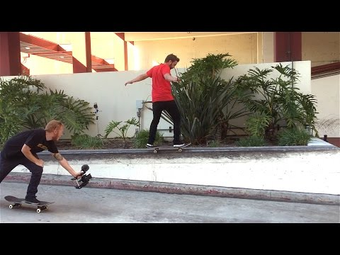 Pefrect Skateboarding Ledge!  Revive California Trip Part 1