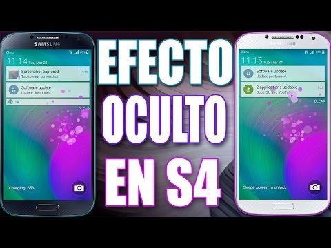 Activa El Efecto de Desbloqueo De Partículas En Galaxy S4 Con Lollipop