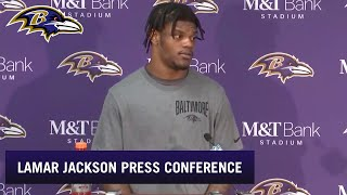 Lamar Jackson Talks Playoff Loss | Baltimore Ravens