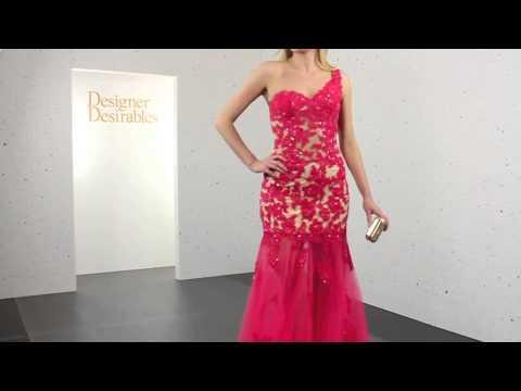 Forever Unique Coral Felicity Dress