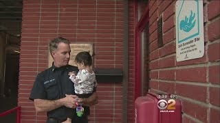 Baby Dropped Off At O.C. Fire Station Still Touching Hearts Of Firefighters