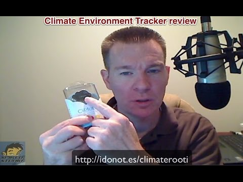 CliMate Environment Tracker review