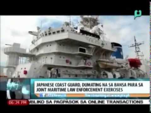 Japanese Coast Guard, dumating na sa bansa para sa Joint Maritime Law Enforcement Exercises