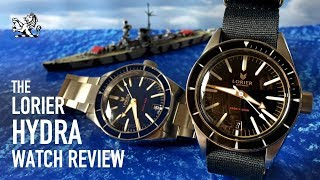 The Best Micro-Brand Diver Under $400 For 2019? - Lorier Hydra 200m Dive Watch Review