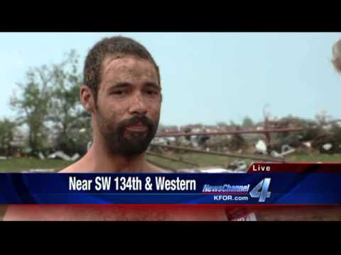 Man Survives Moore Tornado in Horse Stall