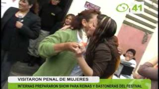 Reinas Y Bastoneras Visitaron Penal De Mujeres - Trujillo