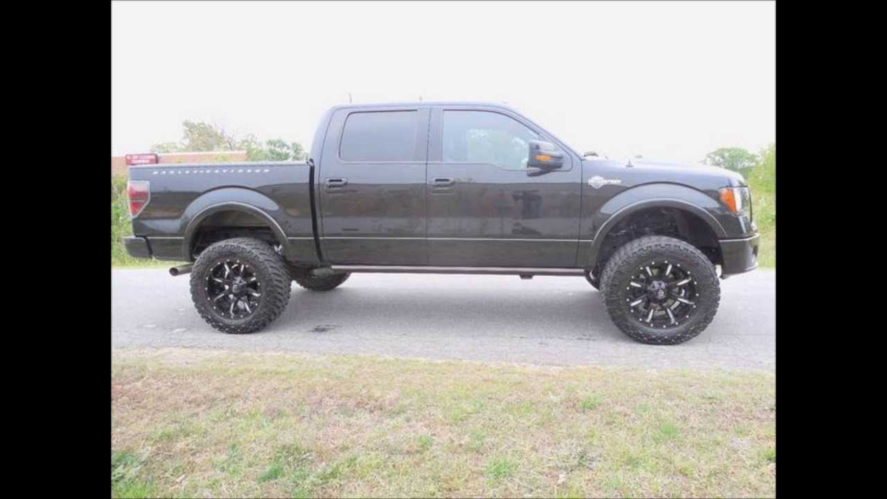 2012 Ford F150 Harley Davidson Lifted Truck For Sale - YouTube