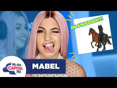 Download Lagu  Mabel Sings 'Old Town Road' In Swedish 🤠 | FULL INTERVIEW | Capital Mp3 Free