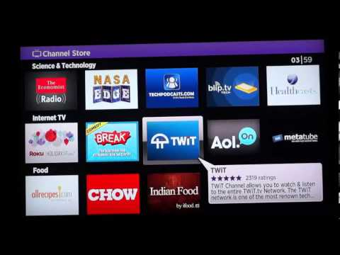 Roku 2xs Review Available Channels Dec 2012-2013 Part 1
