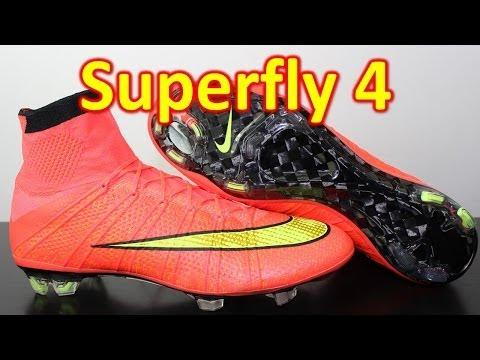 Nike Mercurial Superfly 4 Hyper Punch/Volt - Unboxing + On Feet