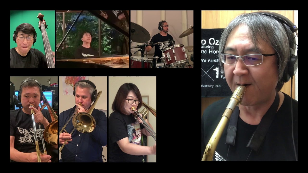 """Makoto Ozone featuring No Name Horses (小曽根真) - 2020.05.24「TOKYO JAZZ +plus LIVE STREAM」から""""No Strings Attached (Stay Home Version)""""のライブ映像を公開 thm Music info Clip"""
