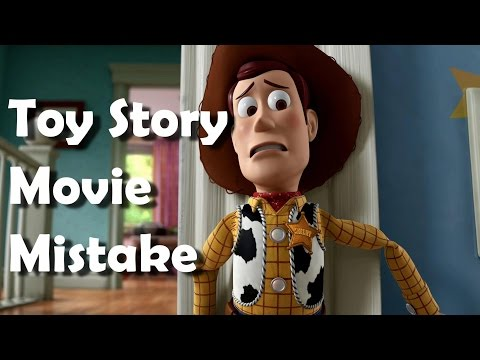 Disney Toy Story Movie Mistakes, Goofs, Review and Fails by Pixar