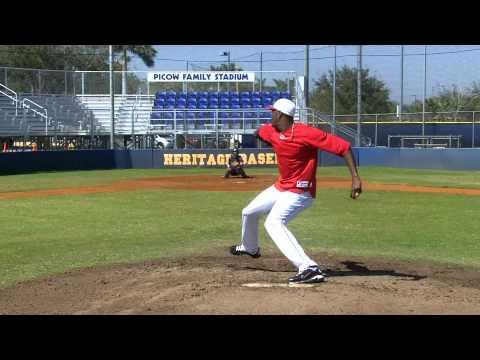 Aroldis Chapman 105 mph pitcher