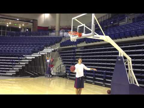 Gonzaga Basketball Trick Shots