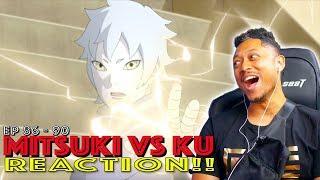 Mitsuki vs Ku! First Time Watching Boruto Episode 86 87 88 89 90