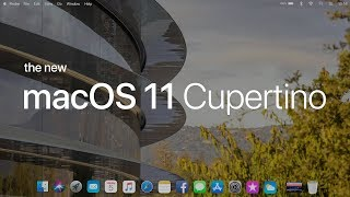 Introducing macOS 11 Cupertino (Concept)