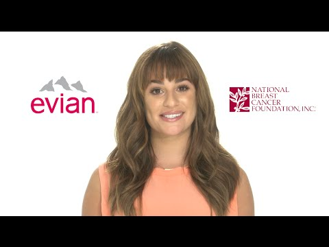 evian, Lea Michele & NBCF Want You To Know: A Self-Exam Is #FasterThan You Think