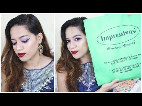 Impressions Delhi Haul | Debasree Banerjee
