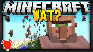 Minecraft | VILLAGERS FLY SOUTH FOR THE WINTER?!?