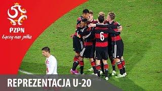 U-20: Bramki z meczu Polska - Niemcy 0:2