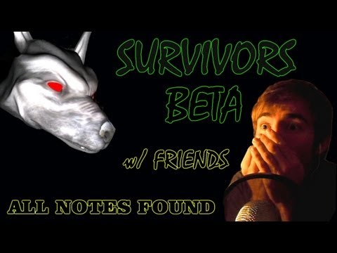 ALL NOTES FOUND - SURVIVORS: BETA (CO-OP SLENDER) - Part 2