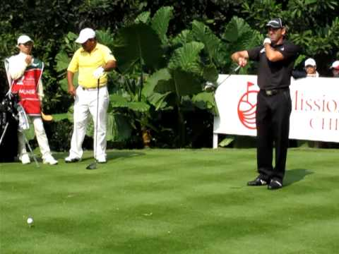 Sergio Garcia at Mission Hills Golf Club Video