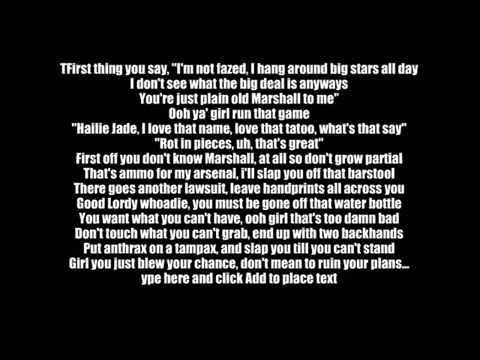 Eminem - Superman With Lyrics video