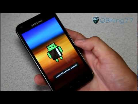 Video: How to Manually Update to Official FF18 ICS on the Samsung Epic 4G Touch
