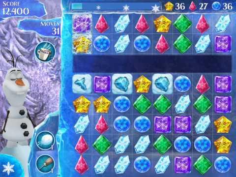 Frozen Free Fall Level 120 Walkthrough