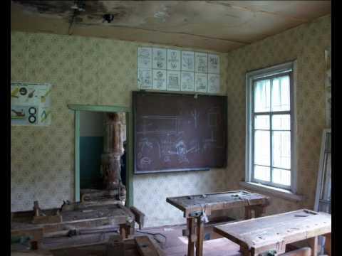 Уничтожение сельских школ