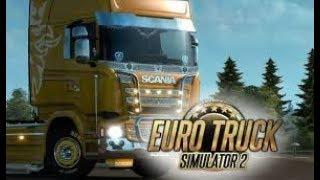 Euro Truck Simulator 2  1°Viagem parte 1!