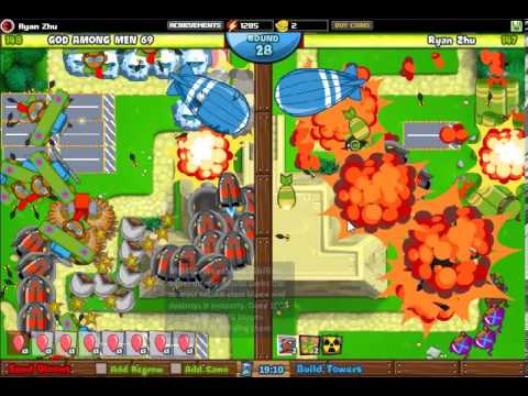 SICKEST GAME EVAR!!!! - Bloons Tower Defense Battles