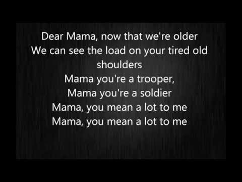 Johnny Cash and the Carter sisters - A song to mama lyrics (Dear mama)