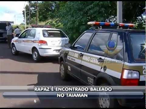 Albergado é morto com sete tiros no bairro Taiaman - parte 1