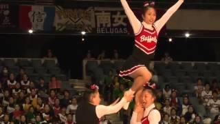 帝京大学 チアリーディング部 Japan Cup 2013 [前編]