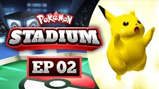 Pokemon Stadium Lets Play #02 - OK SERIOUSLY GOT BLOWN BACK