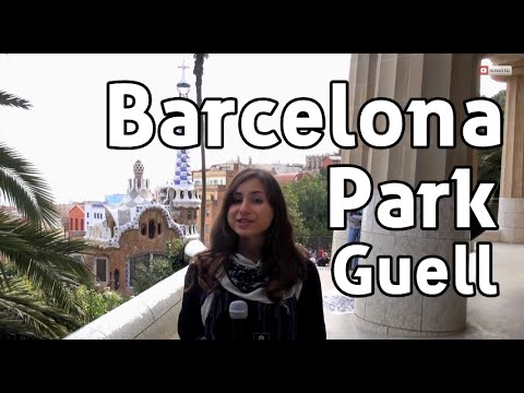 Park Guell, Barcelona Travel Video - Getting Close to