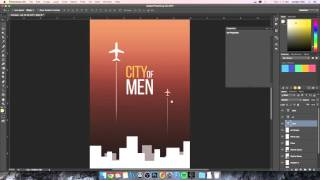 Photoshop CC Tutorial - Book Cover (Building Elements from Scratch)
