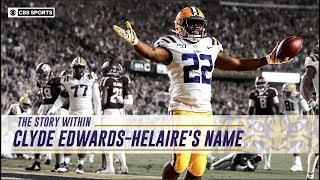 The Story Within Clyde Edwards-Helaire's Name | CBS Sports HQ