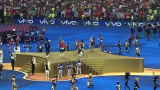 Nicky Jam X and Live it Up (HD) @ 2018 FIFA World Cup Final Game